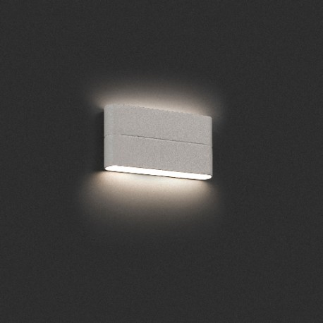 Applique extérieure blanche led Aday-2