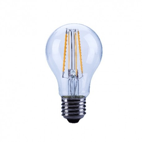 """Ampoule leds """"filaments"""" E27 7W blanc chaud"""