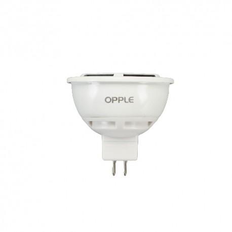Ampoule leds GU5,3 MR16 12V 7W blanc chaud