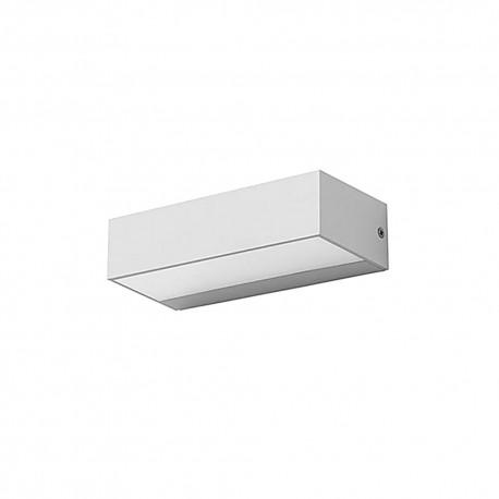 Applique extérieure murale rectangulaire LED intégrée