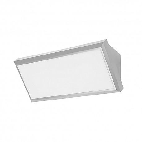 Applique extérieure murale rectangulaire LED Samper PX-0353-GRI grise
