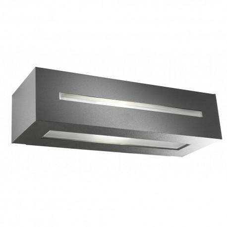 Applique extérieure design rectangulaire gris anthracite design