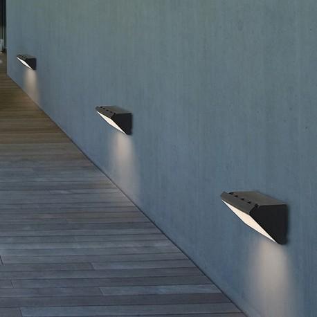 Applique extérieure LED design rectangulaire