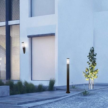 Borne jardin gris urbain Koral 900