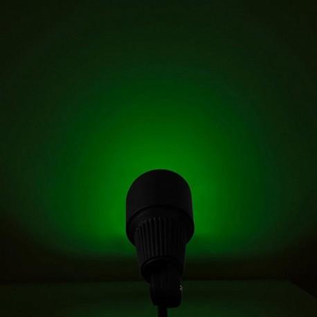 Spot extérieur leds lumière verte Minimal Green Forlight