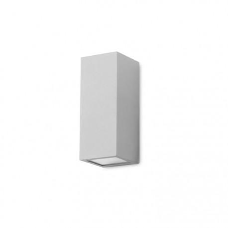 Applique extérieure Cube grise