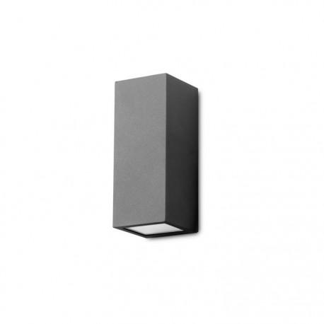 Applique extérieure Cube noire