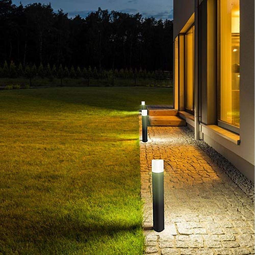 Eclairage extérieur Borne jardin